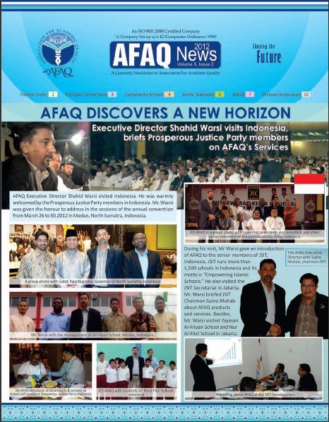 Newsletter V5, Issue 2, 2012
