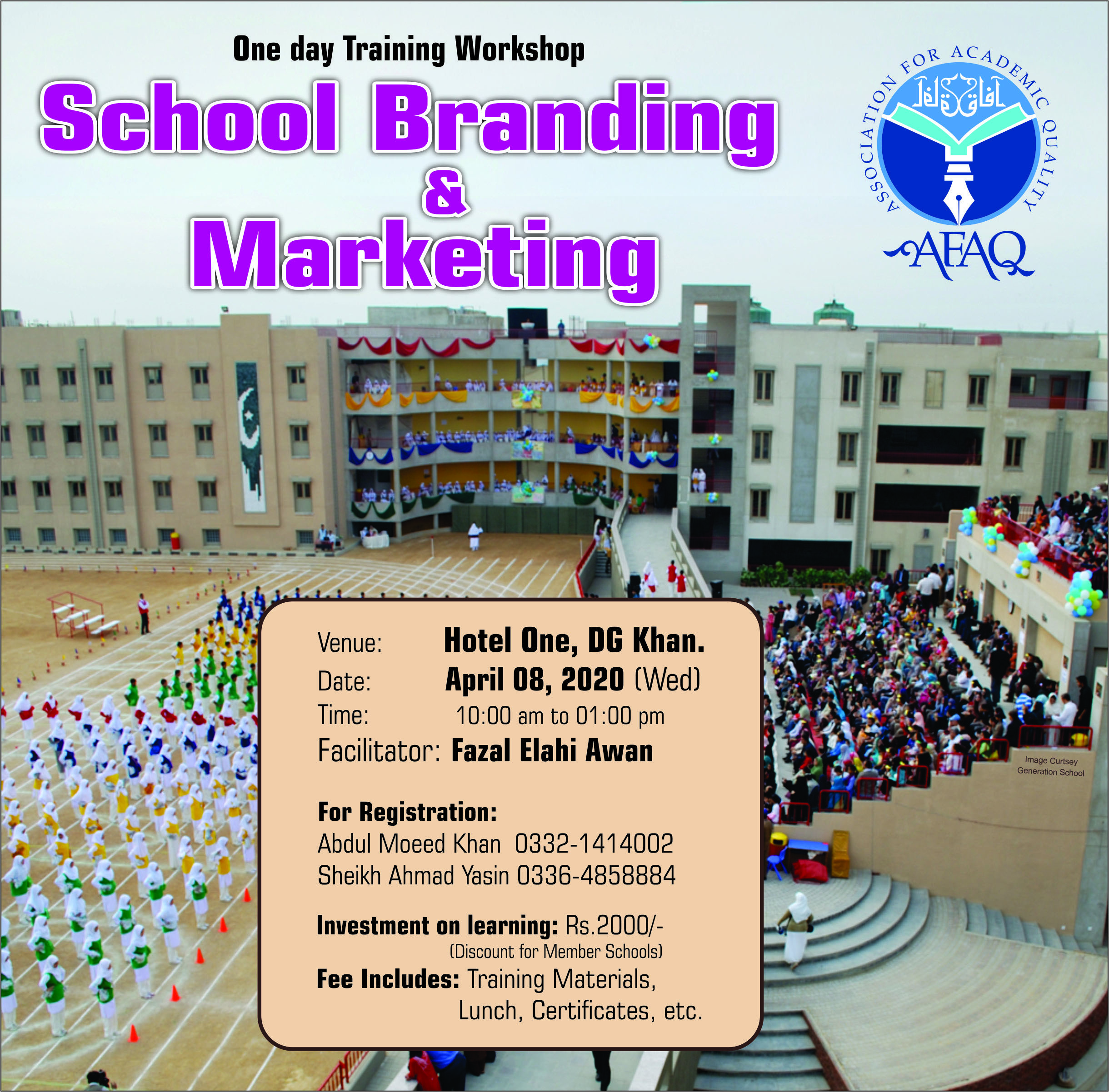 School Branding and Marketing Social Media Post 9-3-2020